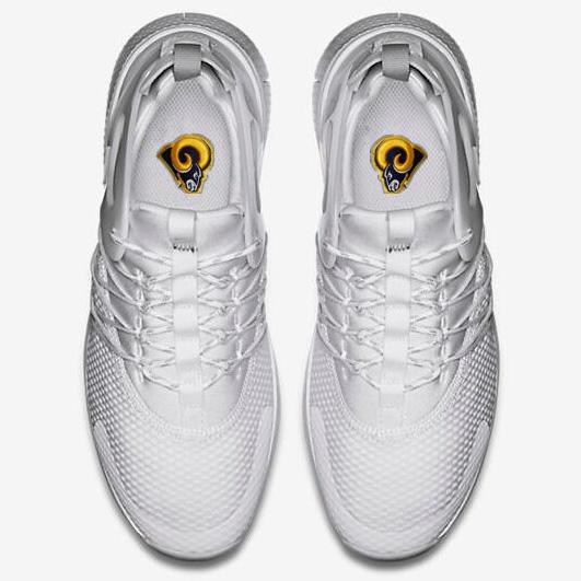 f86d6350 Top 10 Punto Medio Noticias   Nike Los Angeles Rams Shoes
